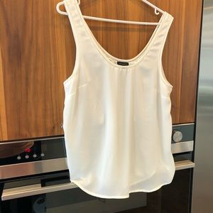 Camisole blanche large
